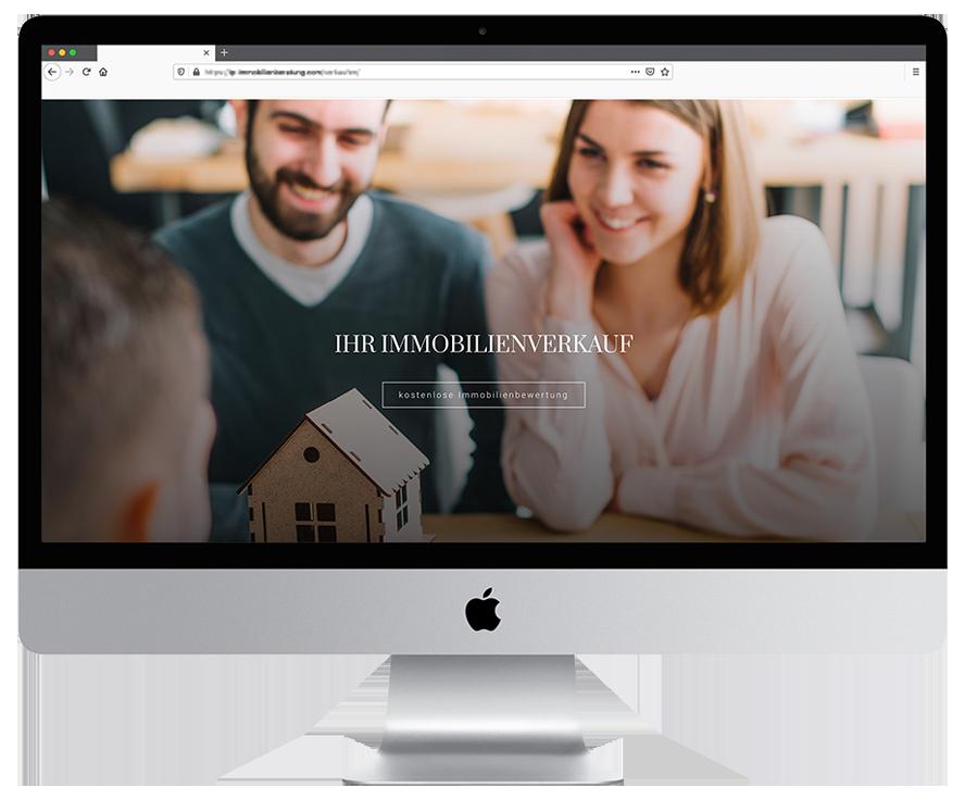 Immobilienmakler-homepage