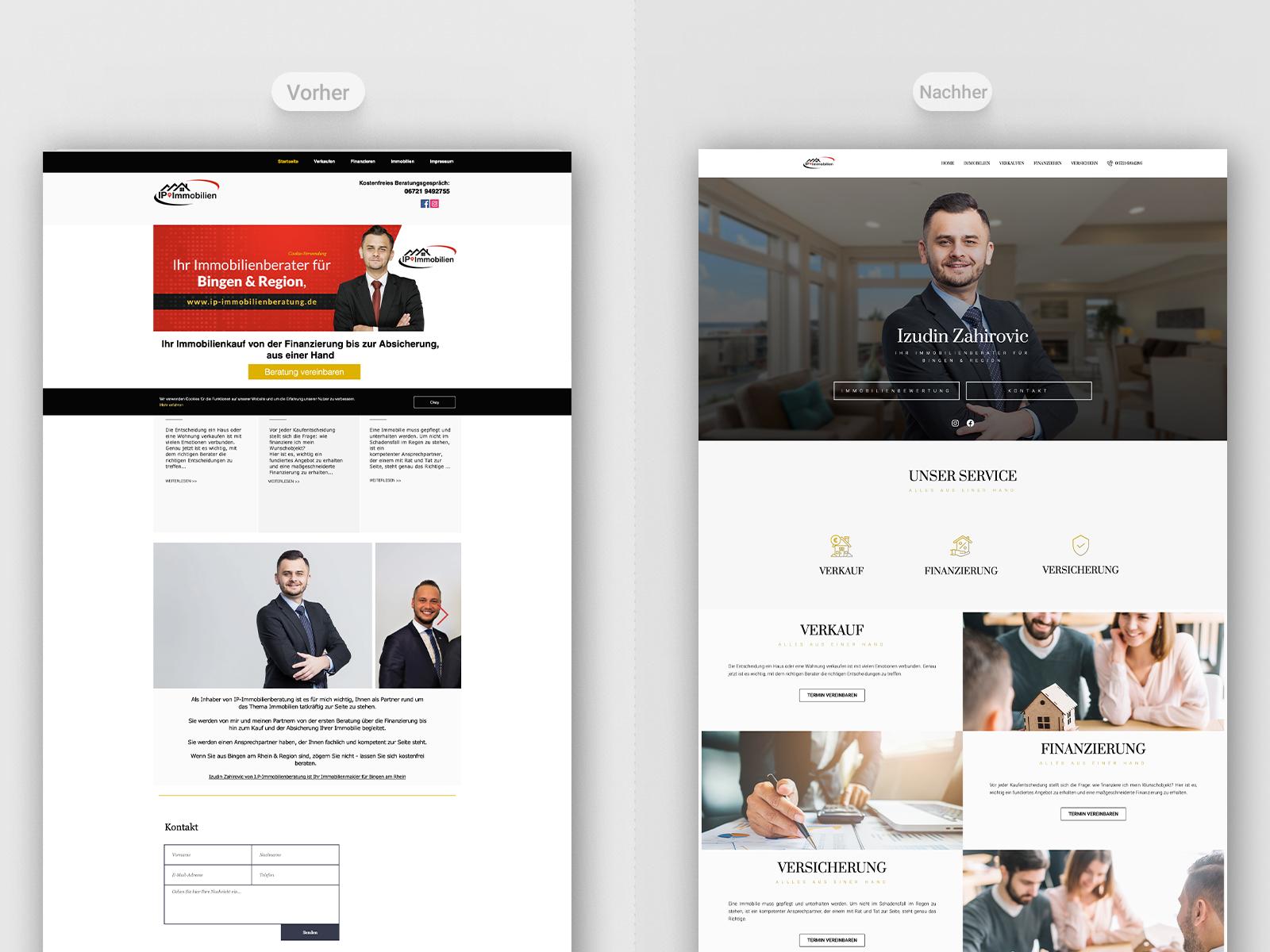 Professionelle Website 1